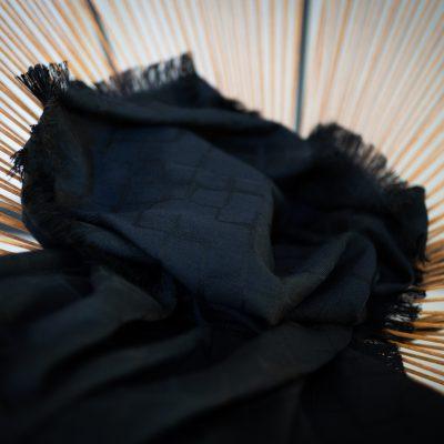 TETRIS SCARF – BLACK/BLACK
